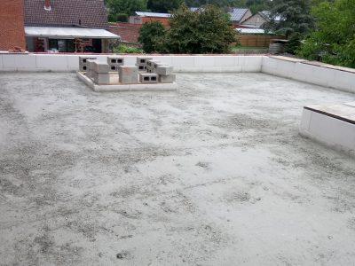 werf Vorselaar dak Thermogran uitvulling